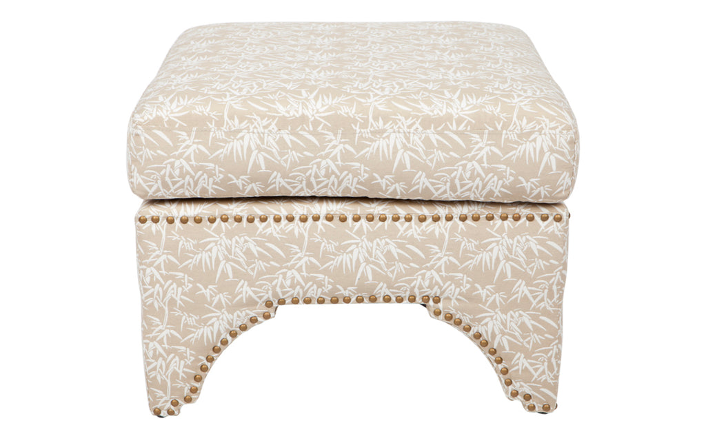 Jewel Low Stool Natural Bamboo