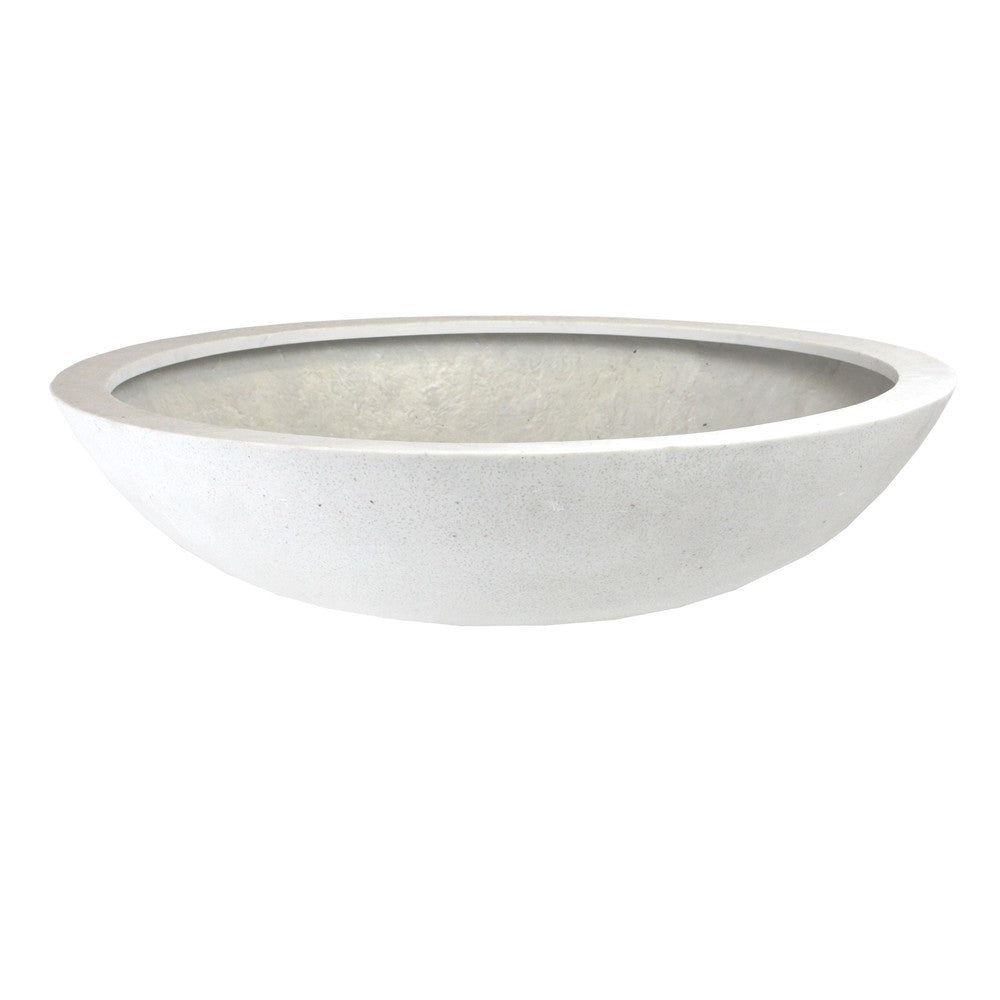 Metropolitan Low Bowl White