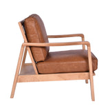 Lucas Buckle Chair Tan