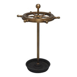 Ships Wheel Umbrella Stand
