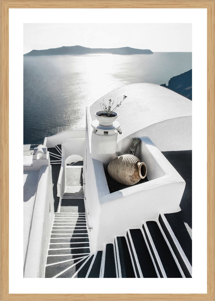 Stairway To Heaven Photographic Print With Frame Interiors Online