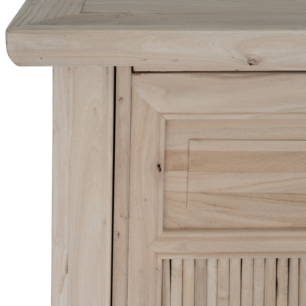 Bamboo Cabinet Blonde