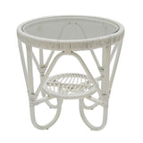 Monash Side Table White
