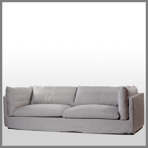 Ella 4 Seater Sofa Pebble