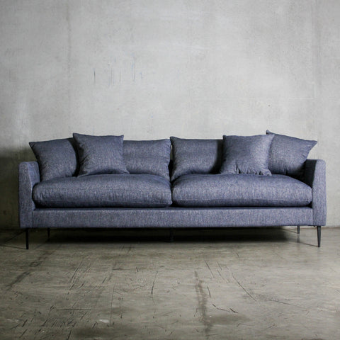 London 3.5 Seat Sofa Denim Blue