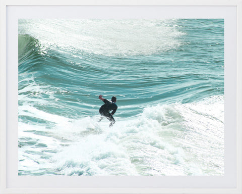 Surf 3 Framed Photographic Print