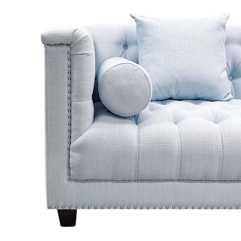 Tristan 2.5 Seat Sofa Powder Blue