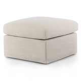 Chesapeake Slip Cover Ottoman Off White