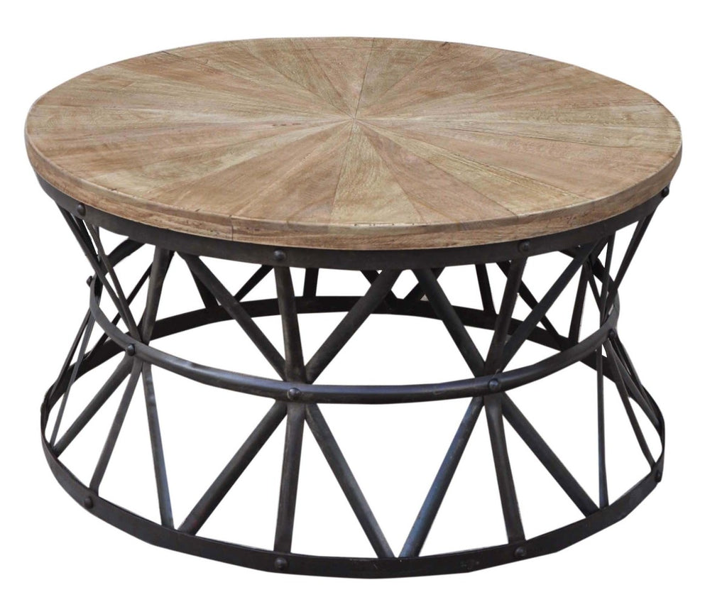 - Cast Iron Round Coffee Table INTERIORS ONLINE