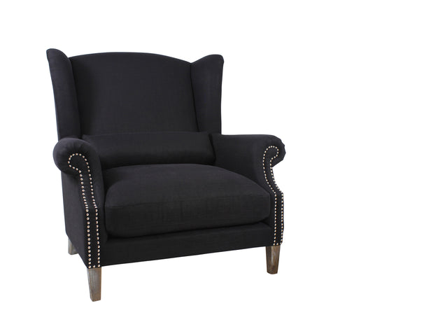 Celine II Love Chair Black