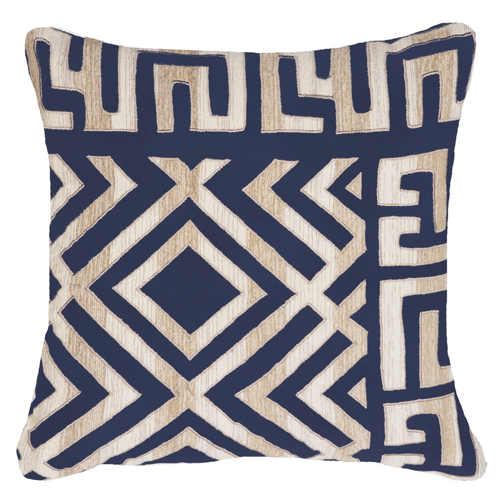 Shoowa Kuba Navy Cushion