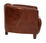 Vintage Leather Retro Armchair