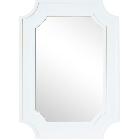 Bowral Wall Mirror White