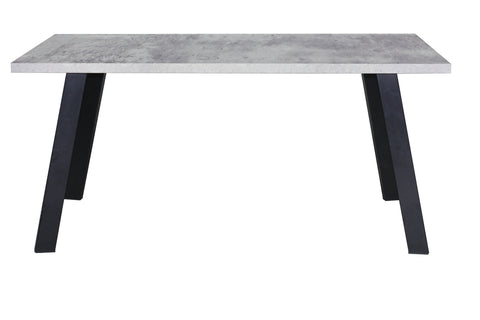 Pure Outdoor Dining Table 200cm x 100cm with Ceramic Concrete Grey Top