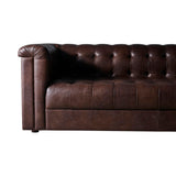 Dominic 3 Seat leather Sofa
