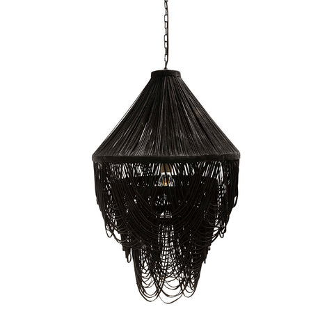 Brighton Hanging Lamp Black