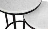 Chloe Nest of Tables Black