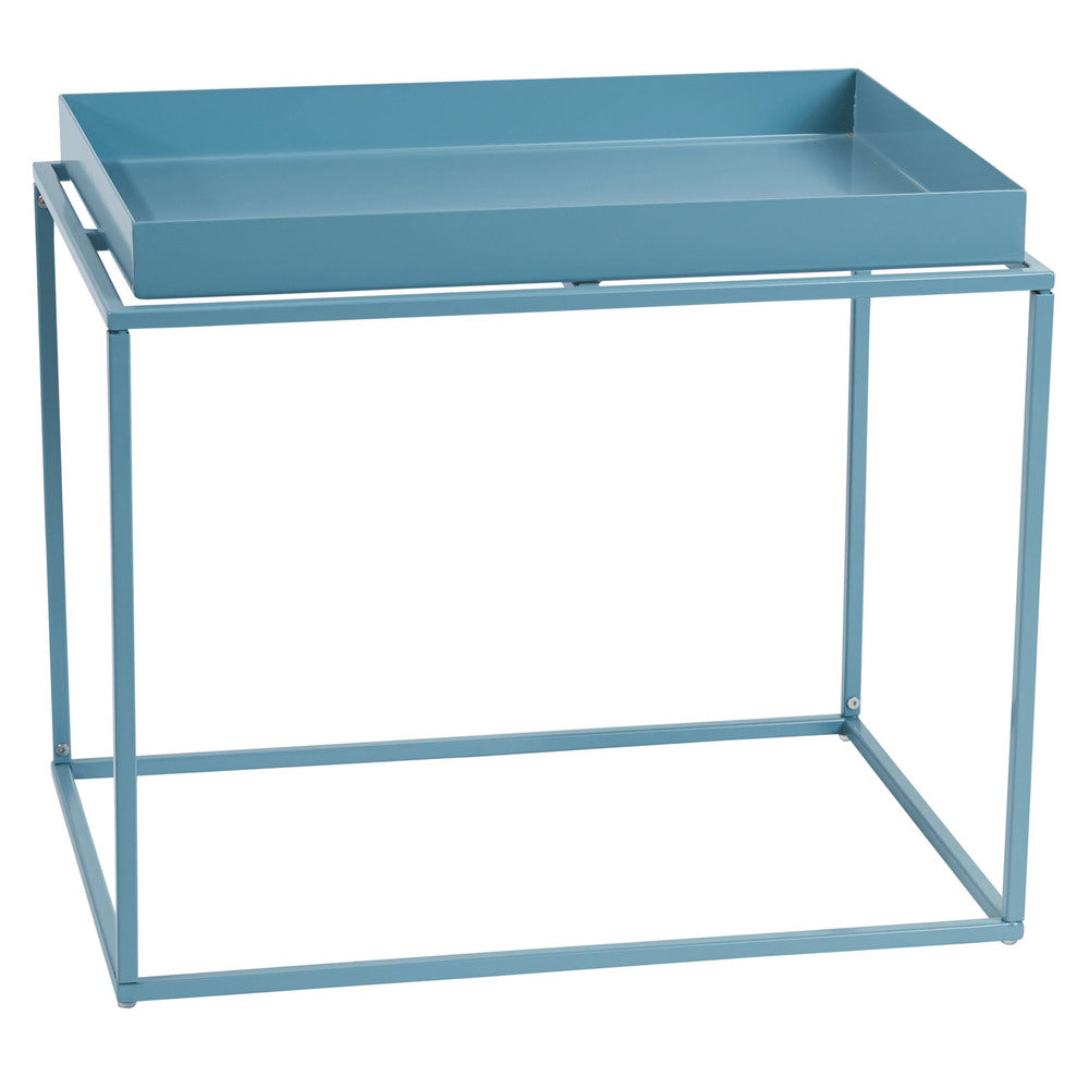 Alto Rectangular Tray Table Blue