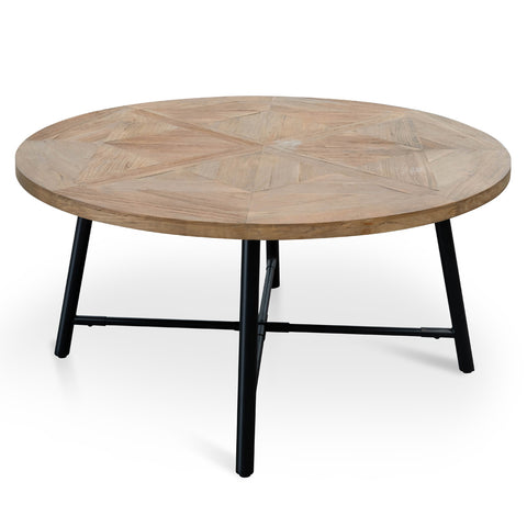 Williams Recycled Elm Round Dining Table