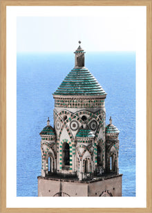 Bell Tower Photographic Print with Frame