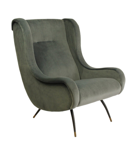 Bocage Dining Arm Chair Charcoal