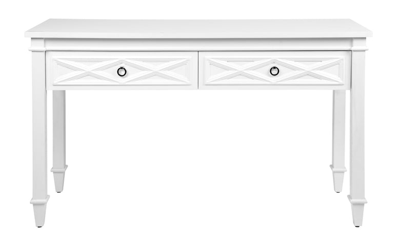 Plantation Console Table White