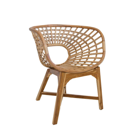 Click Outdoor Dining Chair Olive Green