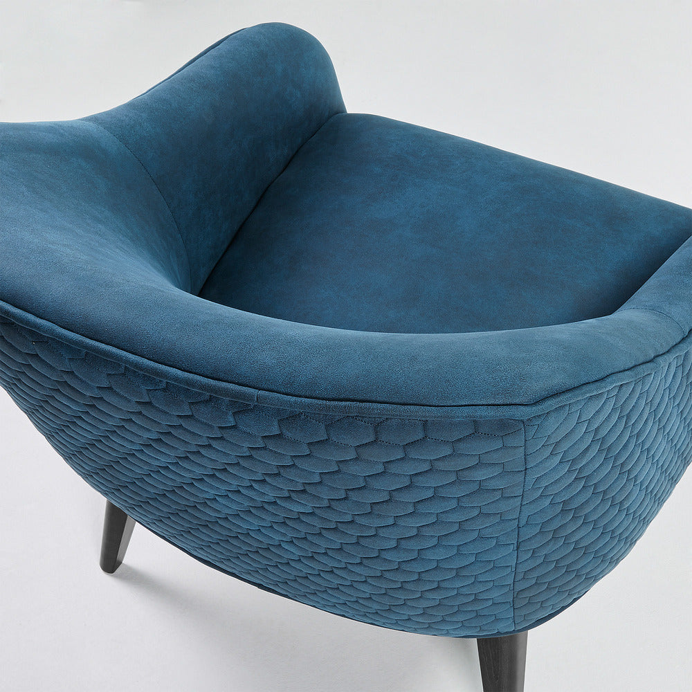 Lotus Arm Chair Blue