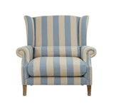 Celine Love Chair Blue and Sand