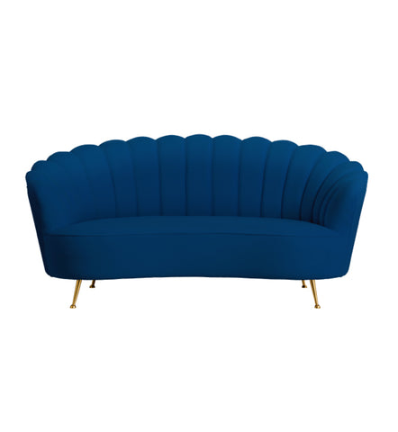 Shell Arm Chair French Navy