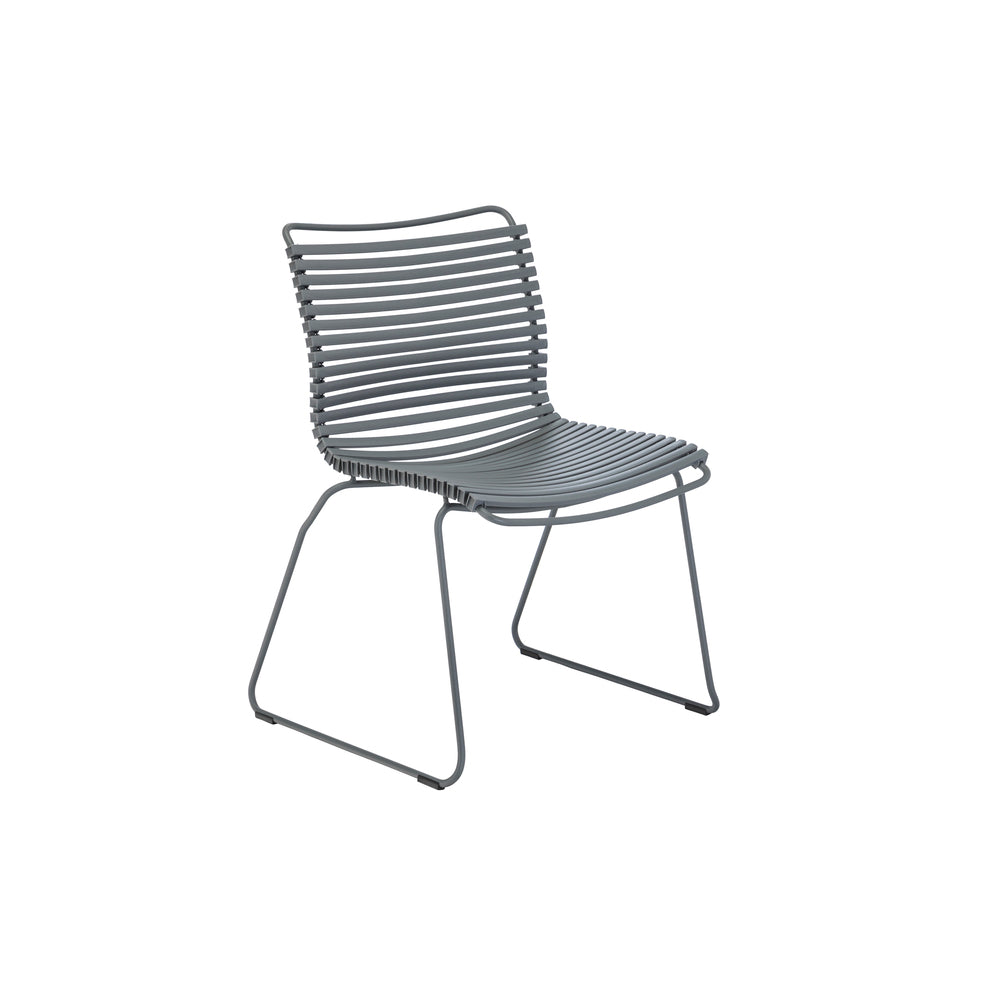 Click Outdoor Dining Chair Dark Grey