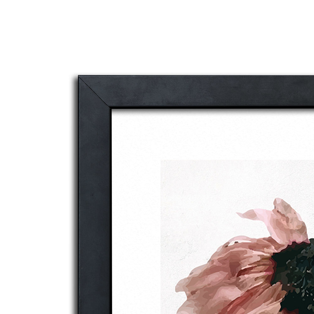 Wistful Poppy Framed Print