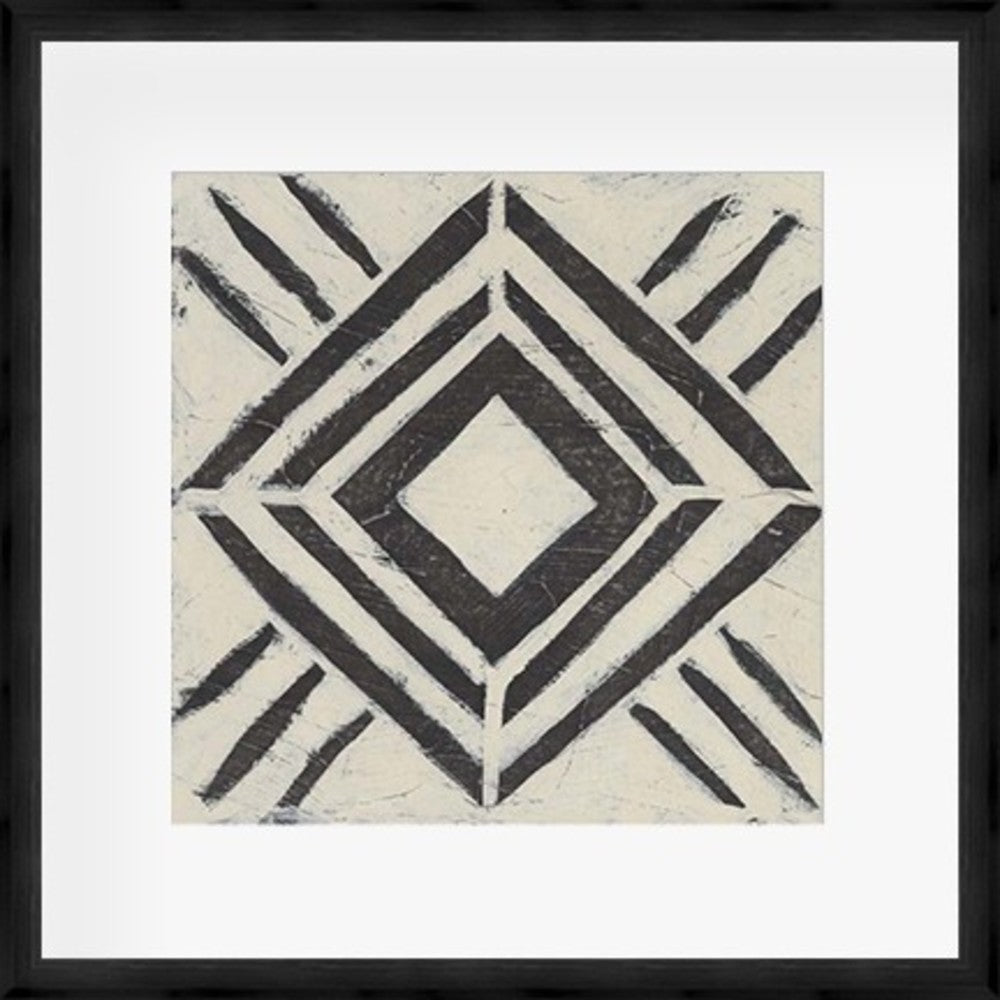 Tribal Patterns V Framed Print