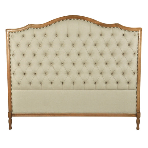 Phillips Tufted King Bed Head