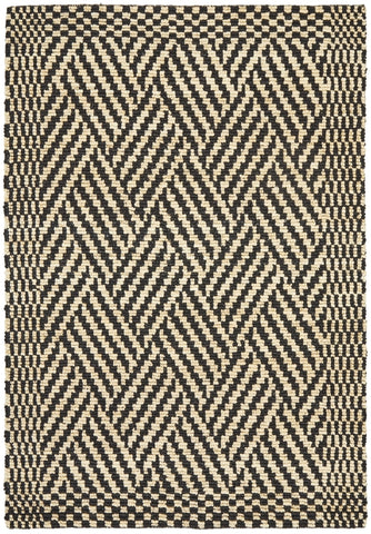 Gradation Ticking Cotton Rug