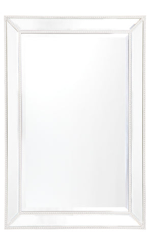 Zeta Floor Mirror White