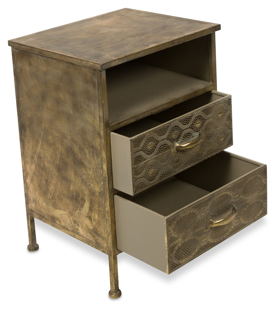 Filigree Bedside Table