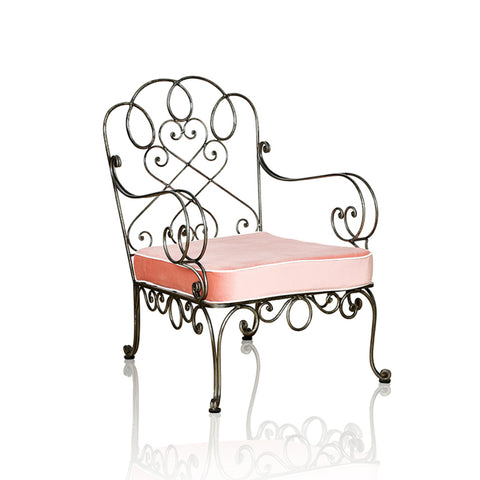 Chantilly Resort Wrought Iron Occasional Chair