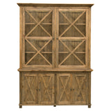Sorrento Glass Cabinet Natural