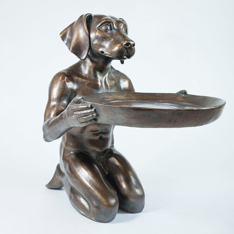 He Loved Helping Others Limited Edition Bronze Sculpture