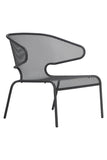 Malmo Outdoor Low Chair Anthracite
