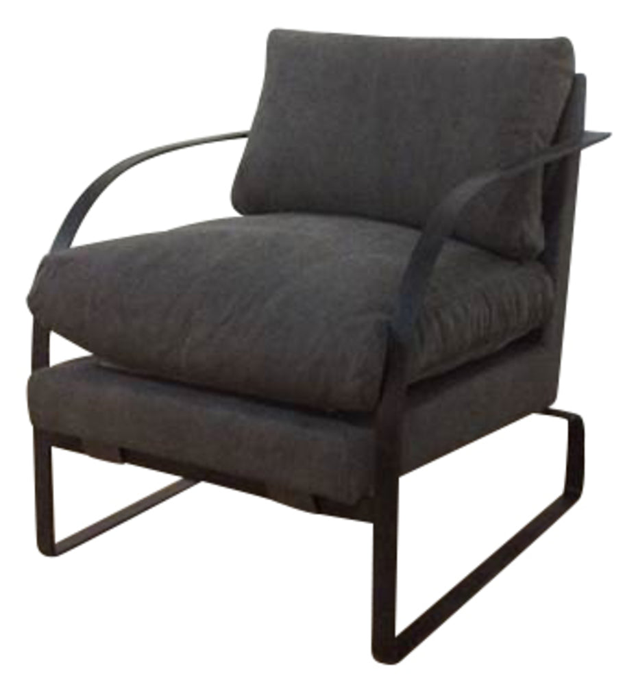 Christian Chair Charcoal Canvas