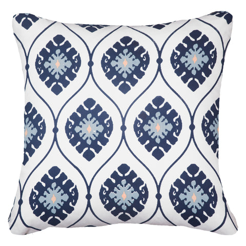 Inner Ikat Solitaire Natural Lounge Cushion