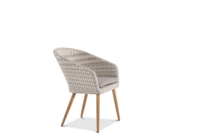 Altea Outdoor Dining Chair Weathered Grey
