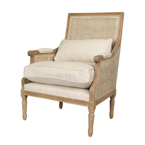 Pierre Rattan Armchair Natural