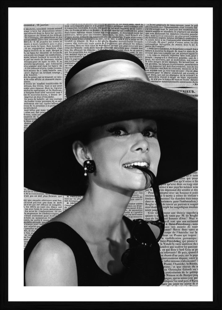 Audrey Photographic Print with Frame