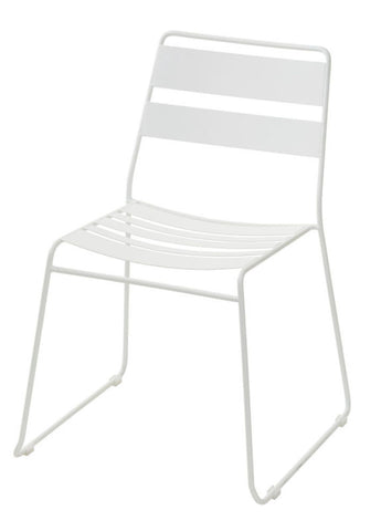 Slat Chair Dark Grey Pair