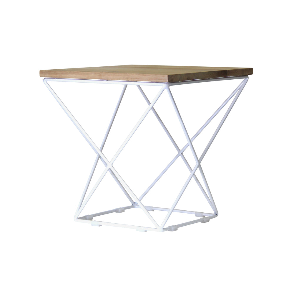 Copen White Side Table