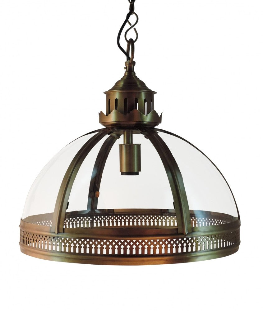 Winston Lantern Shade Antique Brass