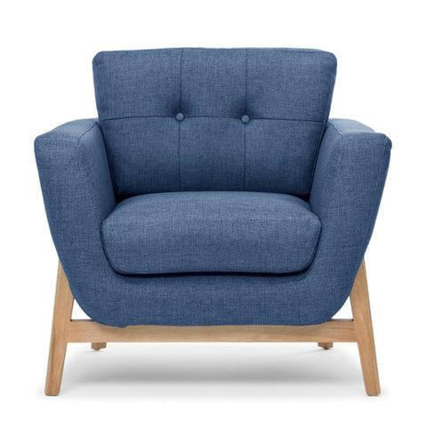 Tess Sofa Denim Blue